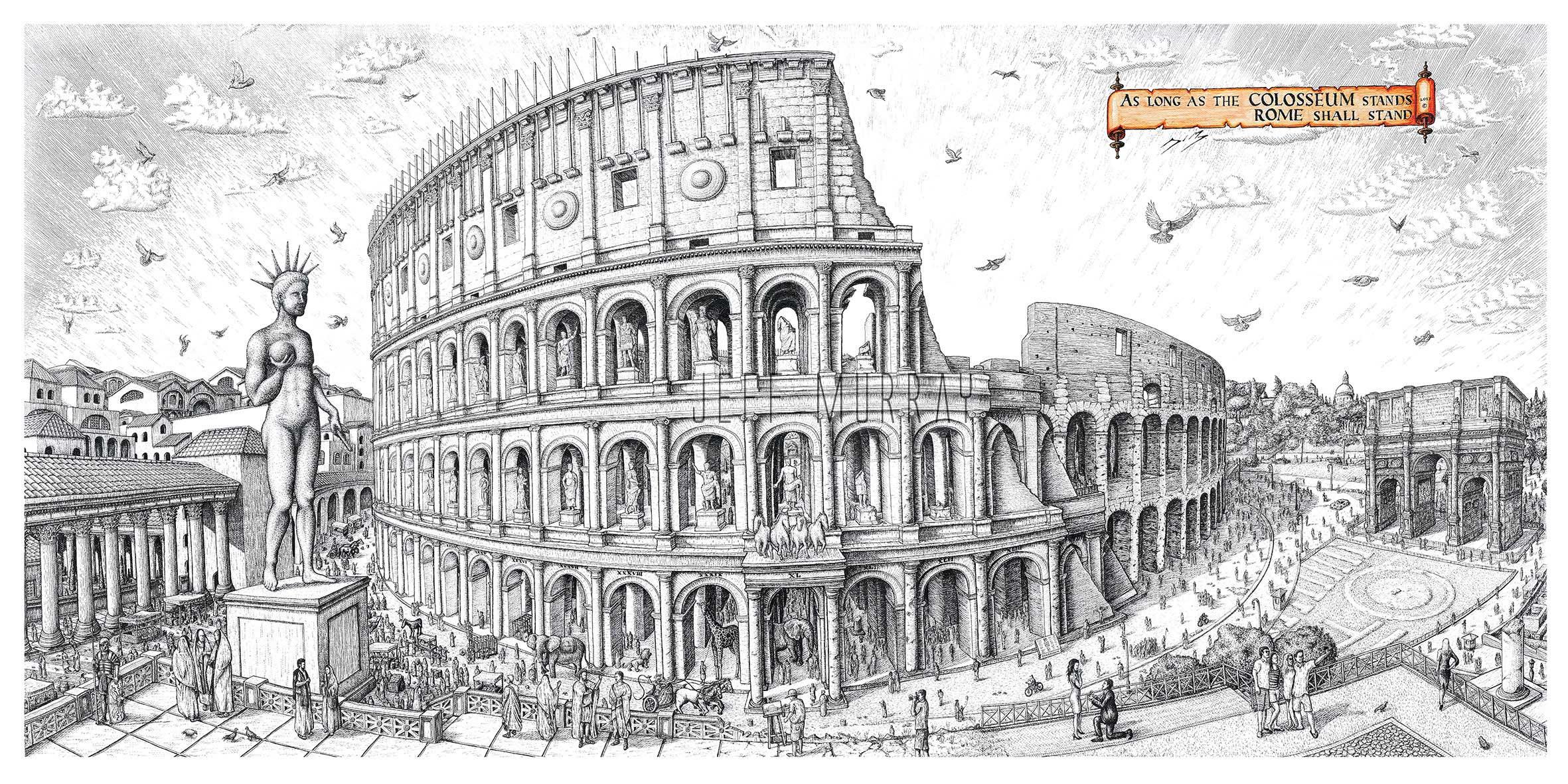 roman world trade center