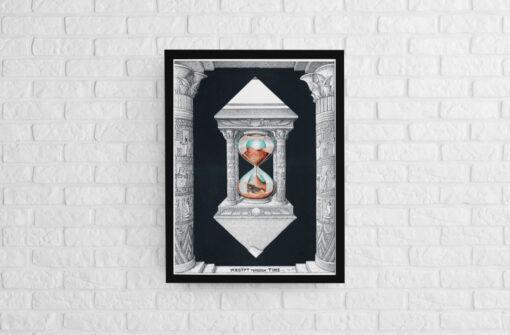 Egypt through time Framed Artwork Print