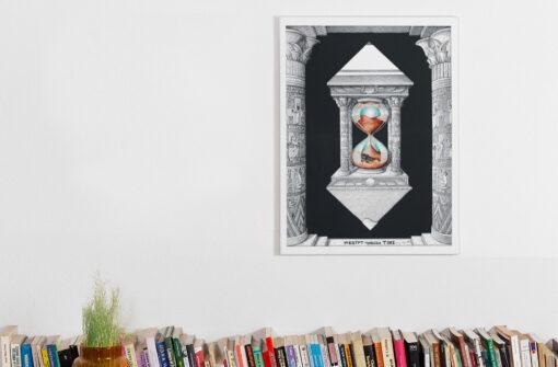 Egypt through time Art Printed on Canvas