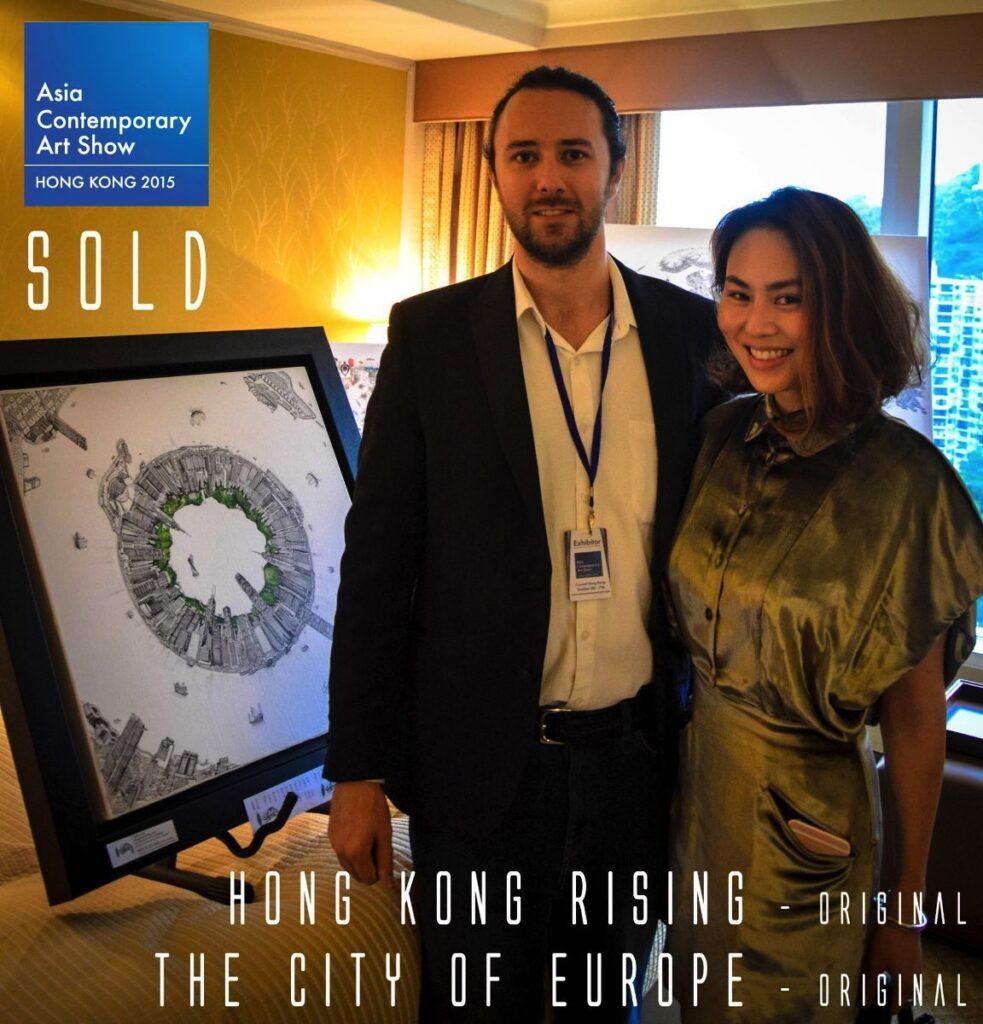 Hong Kong Rising SOLD
